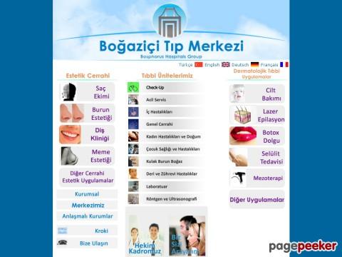 Bogazici Tip Merkezi Besiktas Istanbul Webdebul